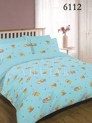 Постельное белье Вилюта 6112 Ранфорс детский голубой