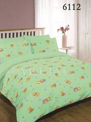 Постельное белье Вилюта 6112 Ранфорс детский зеленый