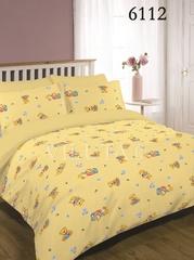 Постельное белье Вилюта 6112 Ранфорс детский желтый
