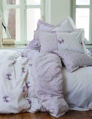 Постельное белье Karaca Home Ранфорс Alisse бирюзовый
