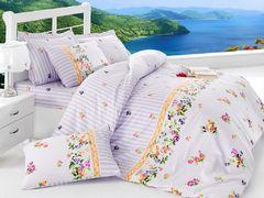 Постельное белье Cotton Box Ранфорс Alisa Lila