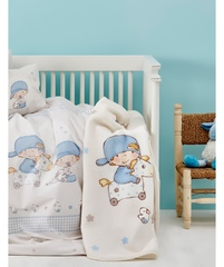 Постельное белье Karaca Home 100х150 Baby Boys