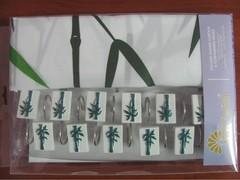 Шторки для ванной Arya 180х180 Bambo