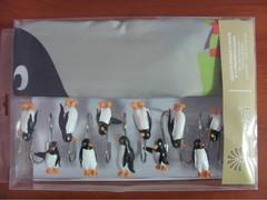 Шторки для ванной Arya 180х180 Big Penguin