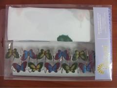 Шторки для ванной Arya 180х180 Butterfly