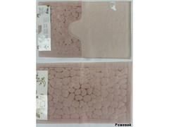 Коврик Arya 60х100-60х50 Cakil розовый