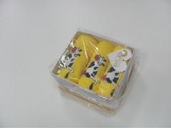 Полотенце Arya 40х60 Cow желтый