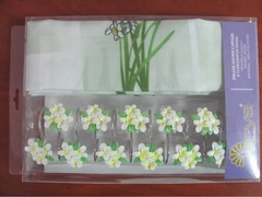 Шторки для ванной Arya 180х180 Daisy