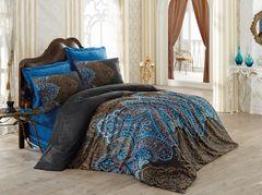 Постельное белье Cotton box Royal Saten Diba Kahve