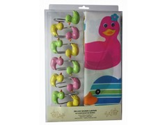 Шторки для ванной Arya 180х180 Duck