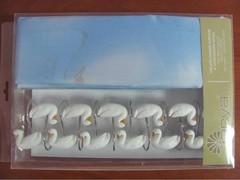 Шторки для ванной Arya 180х180 Ducks