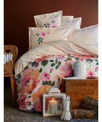 Постельное белье Karaca Home Ранфорс Flame Pink