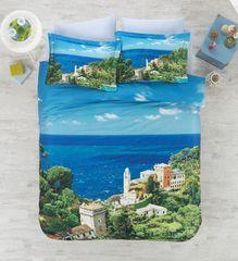 Постельное белье Cotton box 3D Living Earth Italian