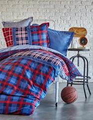 Karaca Home Плед/Покрывало 160Х220 LEAL синий