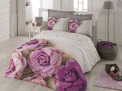 Постельное белье Cotton box Floral Seri 3D Lorella