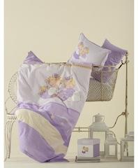 Постельное белье Karaca Home Bebek Mini фиолетовый
