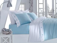 Постельное белье Cotton Box Fashion однотонный Mavi