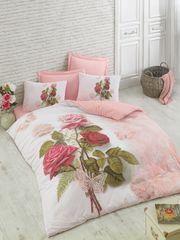 Постельное белье Cotton box Floral Seri 3D Melodi