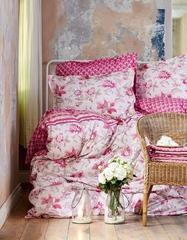 Постельное белье Karaca Home Ранфорс Parice Pembe