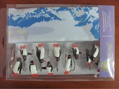 Шторки для ванной Arya 180х180 Penguin