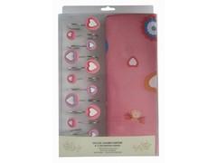 Шторки для ванной Arya 180х180 Pink Love