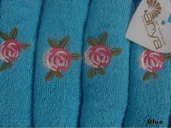 Полотенце Arya 40х60 Riva голубой