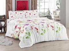 Постельное белье Eponj Home Ранфорс Spring розовый