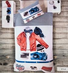Постельное белье Deco Bianca Ранфорс 3D Style