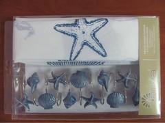Шторки для ванной Arya 180х180 Sea Star