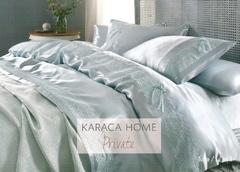 Постельное белье с пике Karaca Home Tugce Suyesil