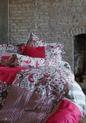 Постельное белье Karaca Home Ранфорс Vera розовый