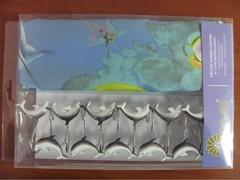 Шторки для ванной Arya 180х180 Water Life