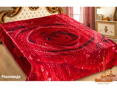 Love You Покрывало Розалинда Шелк 3D 230Х250