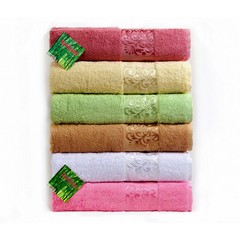 Hanibaba Набор полотенец 50х90 Bamboo Samarsik