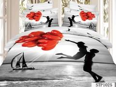 Постельное белье Love You Сатин 3D Близость