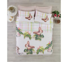 Постельное белье Cotton box Floral Seri 3D Brenda
