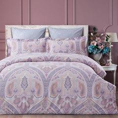 Постельное белье Arya Pure Living Dakota евро розовый