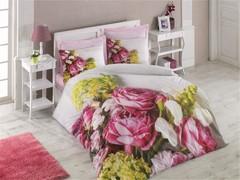 Постельное белье Cotton box Floral Seri 3D Karina