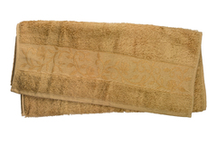 Hanibaba Полотенце Бамбук 70х140 Темно-бежевый