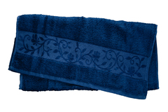Hanibaba Полотенце Бамбук 50х90 Темно-синий