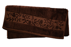 Hanibaba Полотенце Бамбук 100х150 Темно-коричневый