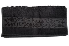 Hanibaba Полотенце Бамбук 100х150 Темно-серый