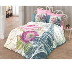 Постельное белье Cotton box Floral Seri 3D Eifyl