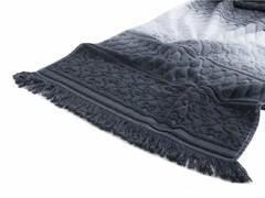 Полотенце Arya 70х140 Kors Degrade серый