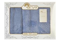 Набор полотенец Arya 50х90 - 70х140 Arno голубой