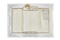 Набор полотенец Arya 50х90 - 70х140 Arno кремовый
