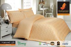Постельное белье Mariposa De Luxe Tencel Бамбук Жаккард семейный Natural Life Honey v8