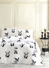 Eponj Home Покрывало 200Х220 B&W - Panda