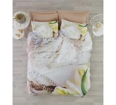 Постельное белье Cotton box Floral Seri 3D Paola