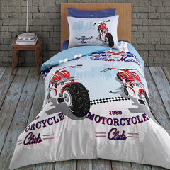 Постельное белье Arya Ранфорс подростковое Racing